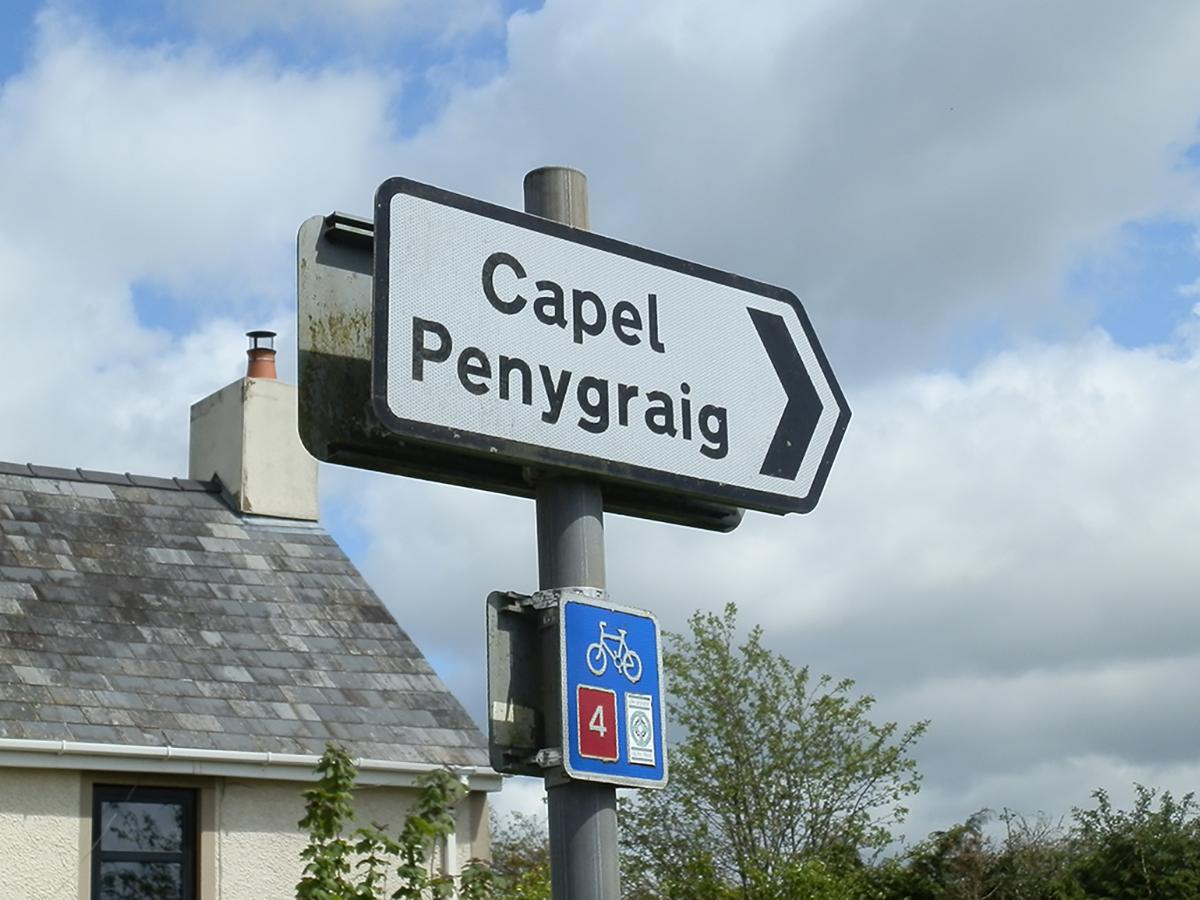 Arwydd Penygraig